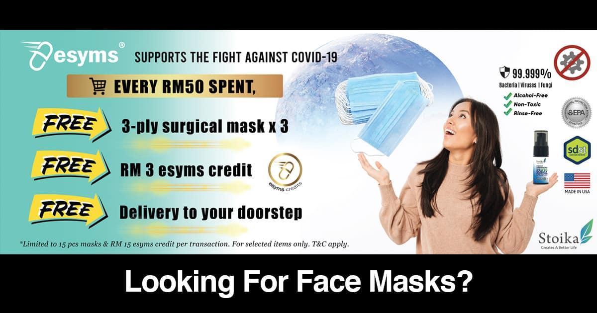 face masks malaysia