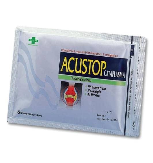Acustop Cataplasma 40mg Plaster