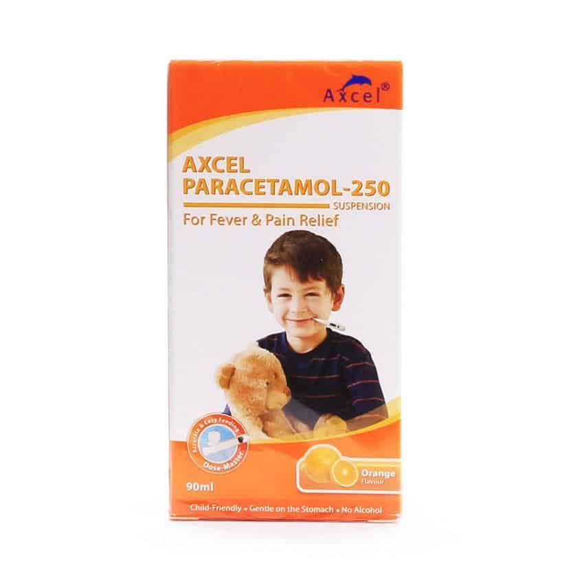 Axcel Paracetamol 250 Suspension 90ml