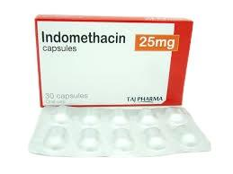 Indomethacin 25mg capsule 10_s