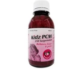 Kidz Paracetamol 250mg Suspension Strawberry 100ml