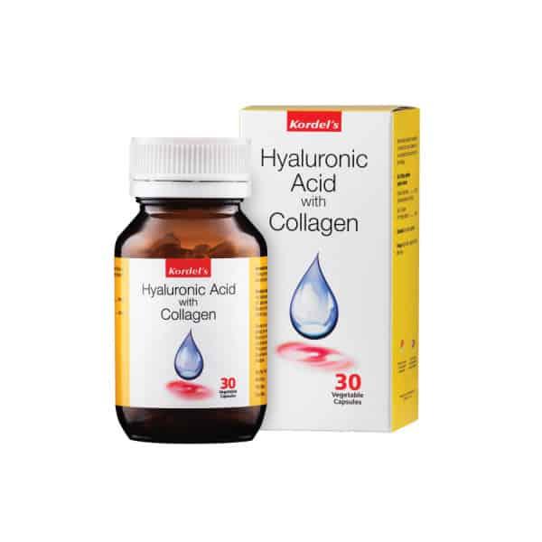 Kordel's Hyaluronic Acid with Collagen Capsule
