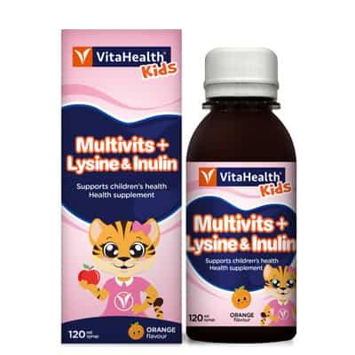 Vitahealth Kids Multivits Plus Lysine & Inulin