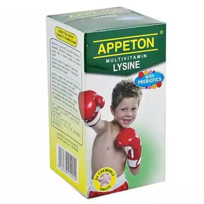 appeton multivamin lysine