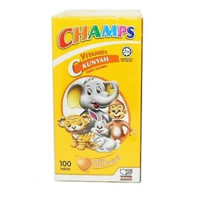 champs vitamin c 100mg