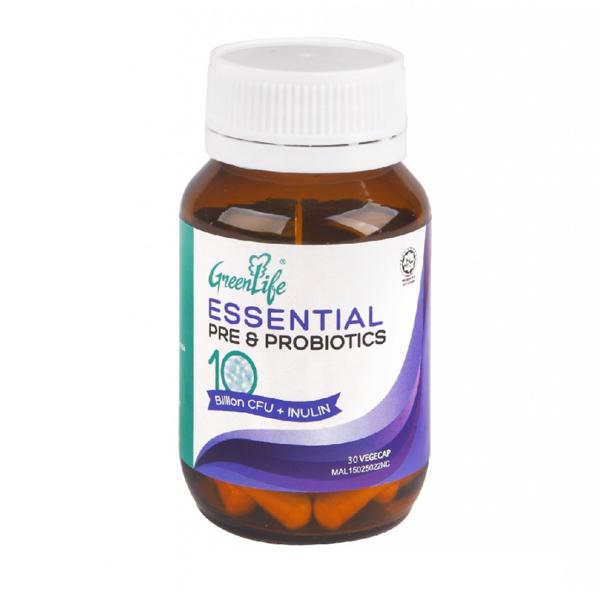 greenlife essential pre and probiotics
