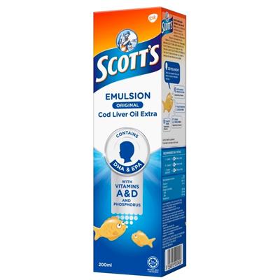 scotts cod liver emulsion