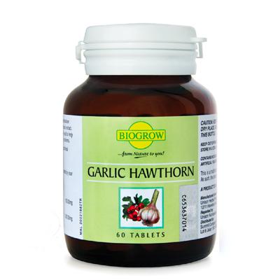 biogrow garlic hawthorn