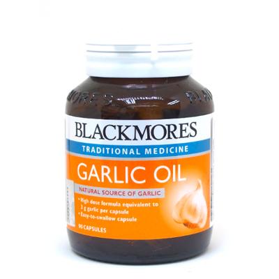 blackmores garlic oil
