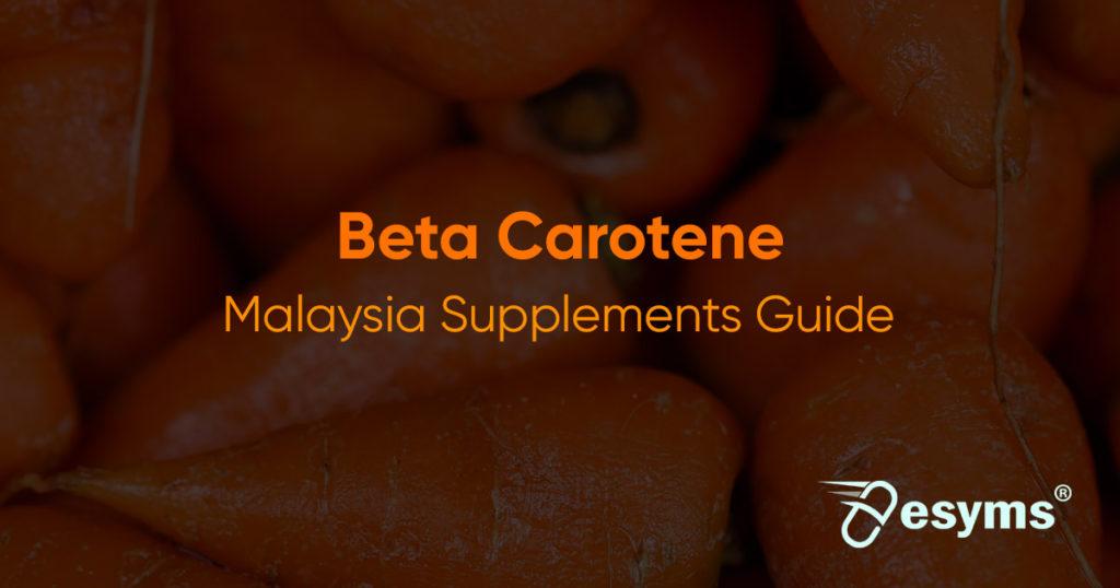 betacarotene supplements review